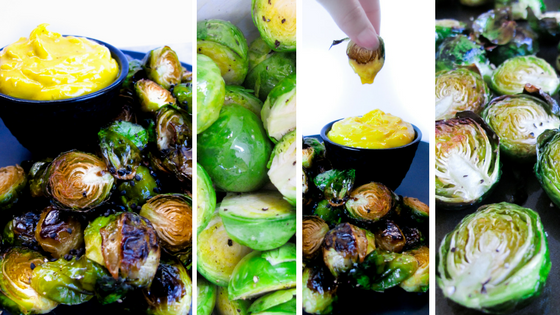Little Sprout Dippers With Turmeric Aioli