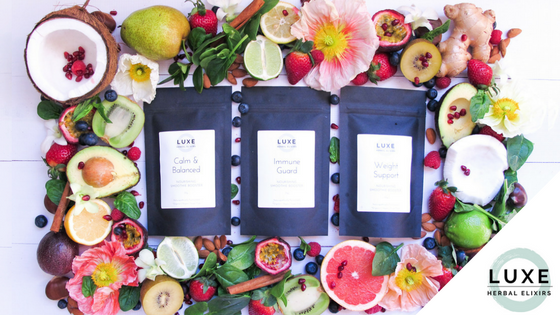 LUXE Herbal Elixirs – New Product Range By Suzie Weber